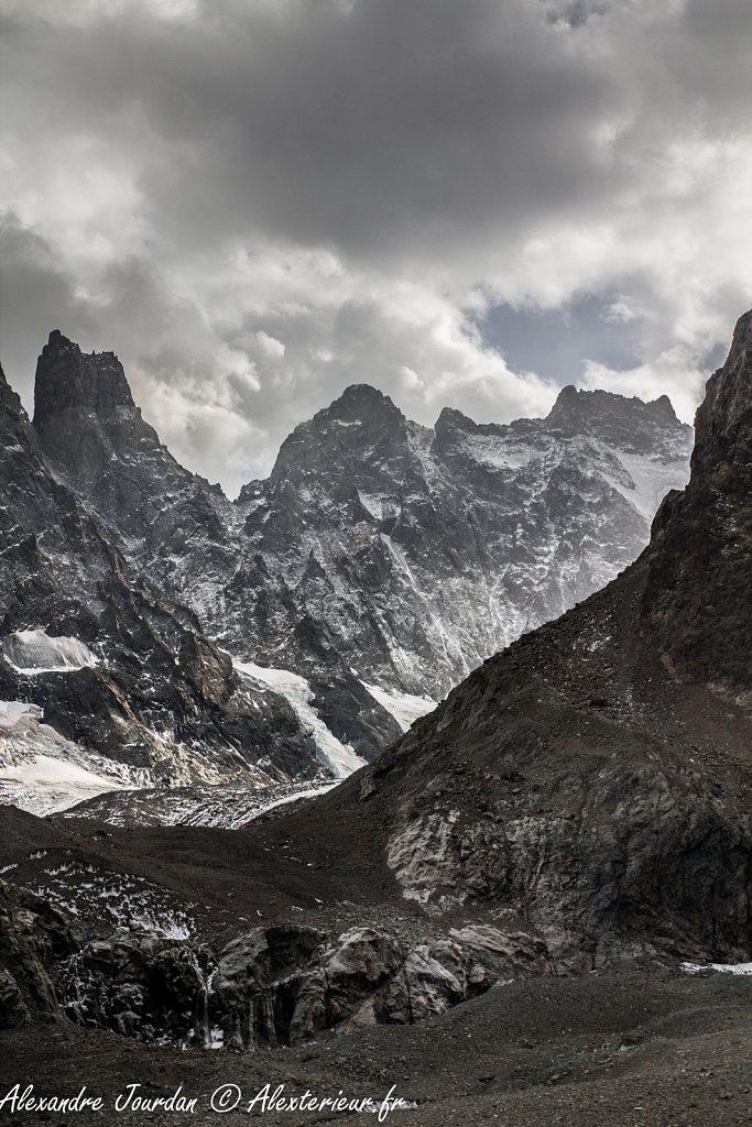 Le bien nommé Glacier Noir