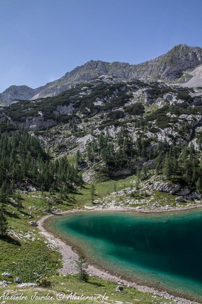 Veliko jezero, Parc national du Triglav
