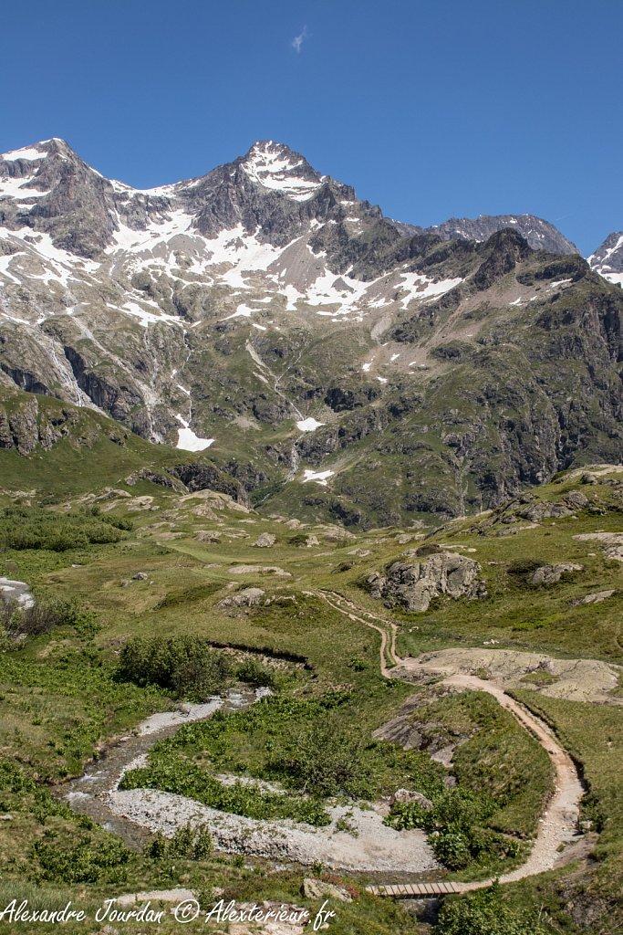 Pics du Vaccivier (3296 m et 3312 m)