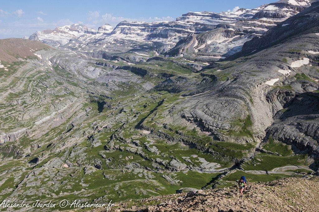 Ascension de la Punta Custodia (2519 m), Parque Nacional de Ordesa y Monte Perdido