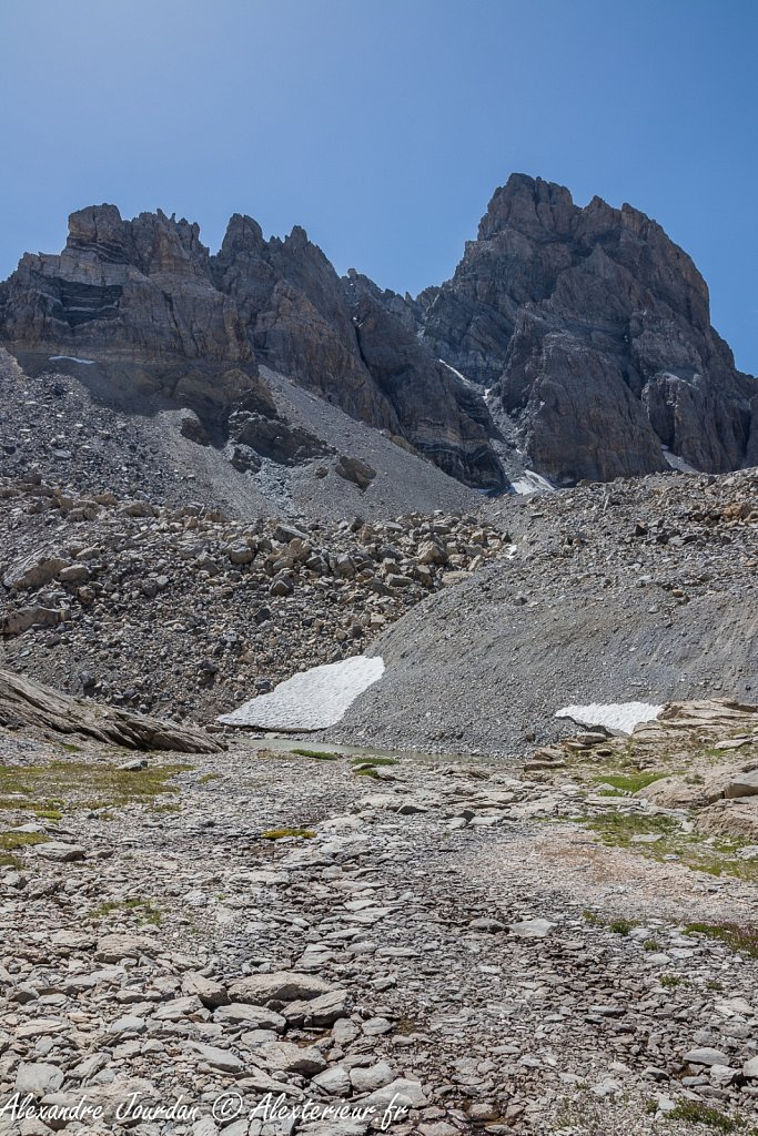 Le Brec de Chambeyron (3389 m)