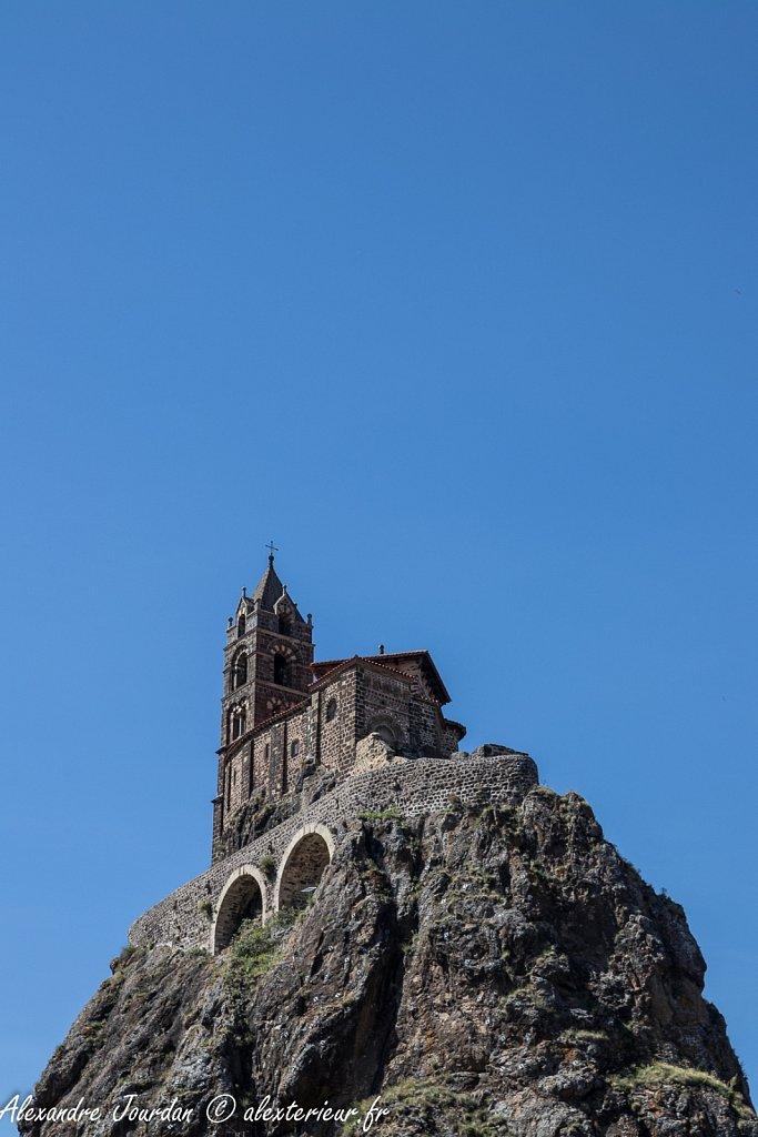 Le Rocher Saint-Michel d'Aiguilhe