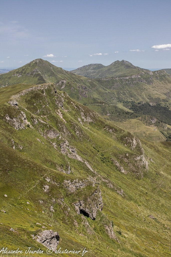 Coeur du Cantal depuis le Puy Chavaroche (1736 m)