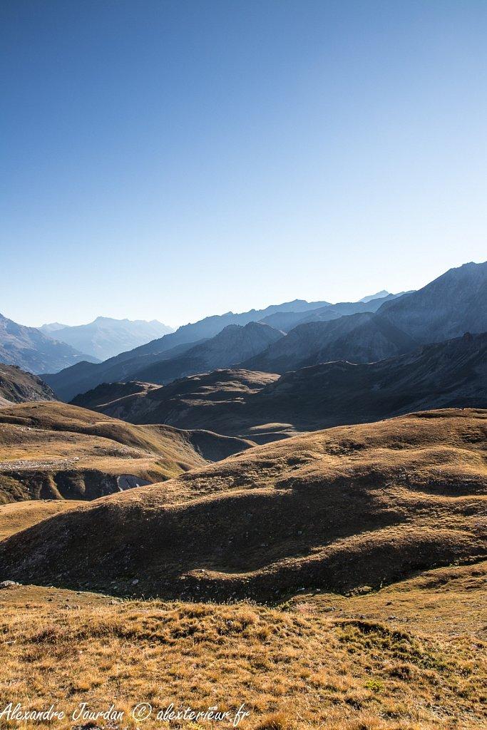 Lever de soleil vers la Haute Maurienne