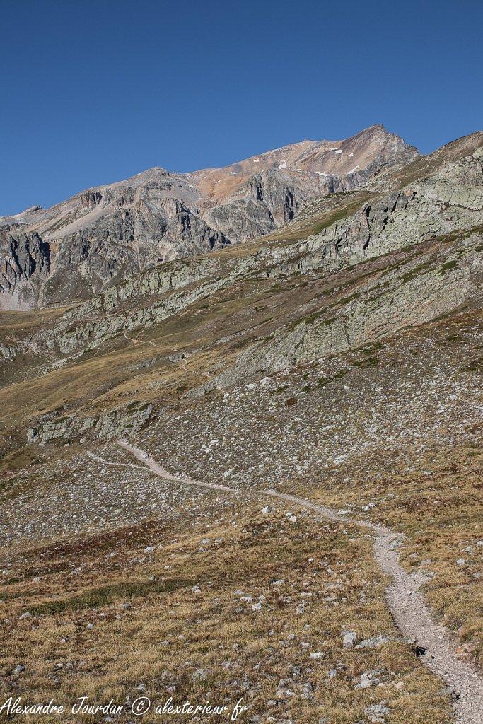 En direction du Mont Thabor