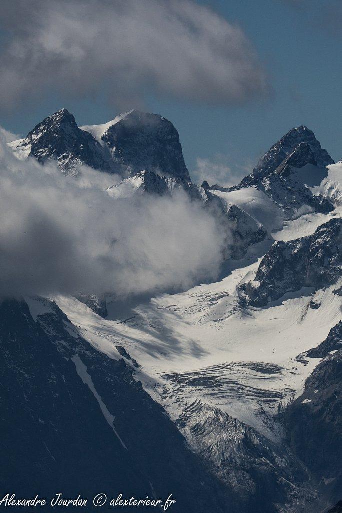 La Meije (3983 m) depuis le Mont Thabor (3178 m)